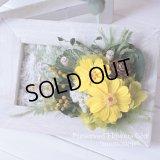 【THANKS!】結婚式のフラワー電報に♪ジニアのフレームY