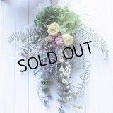 【THANKS!】結婚式フラワー電報に♪パステルカラーのスワッグ35cm